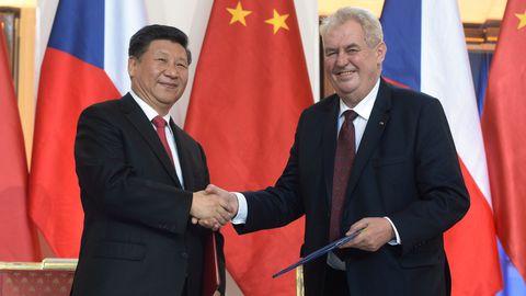 La Chine et la Tchéquie ont vu leurs relations diplomatiques se dégrader depuis plusieurs mois